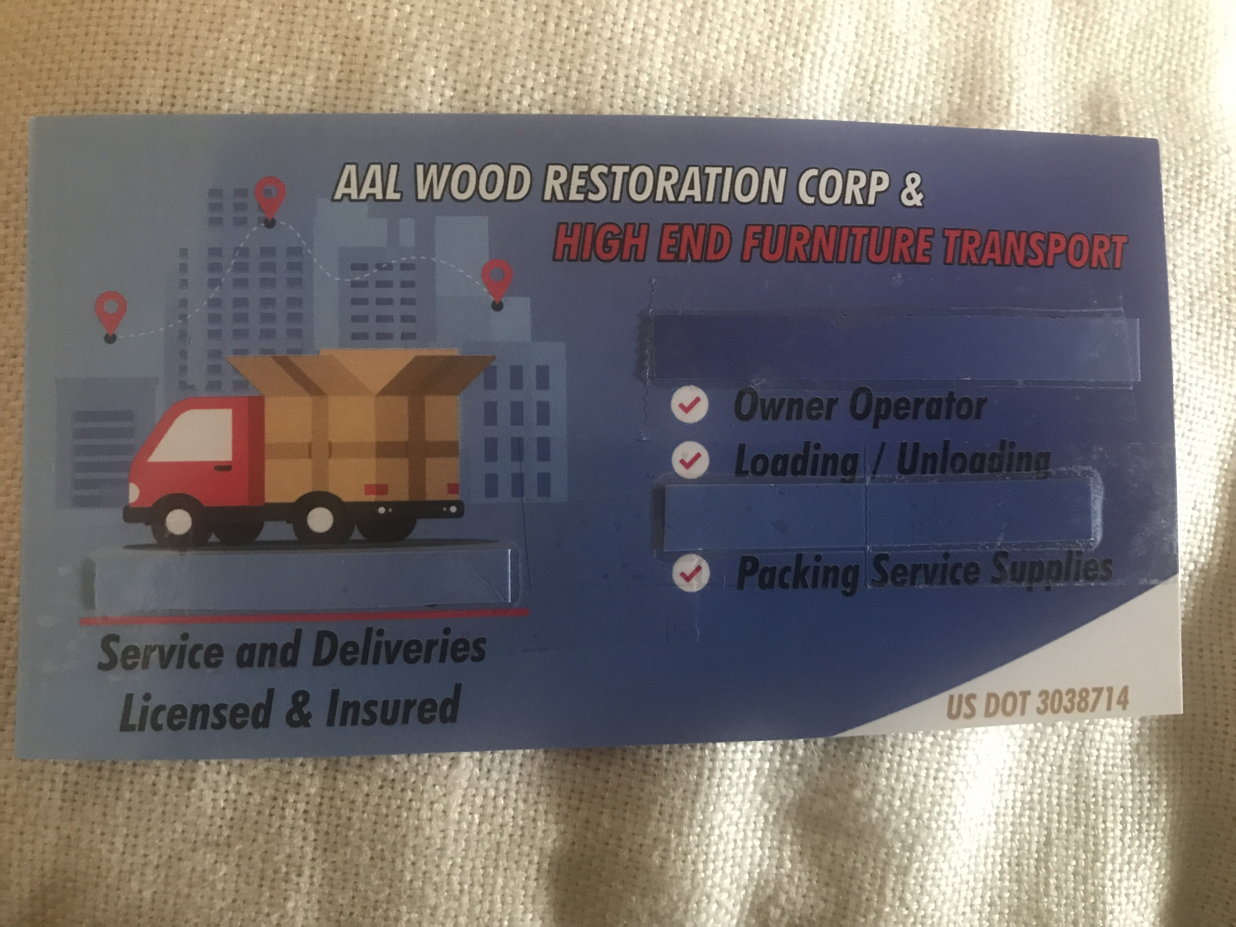 AAL Wood Restoration Corp