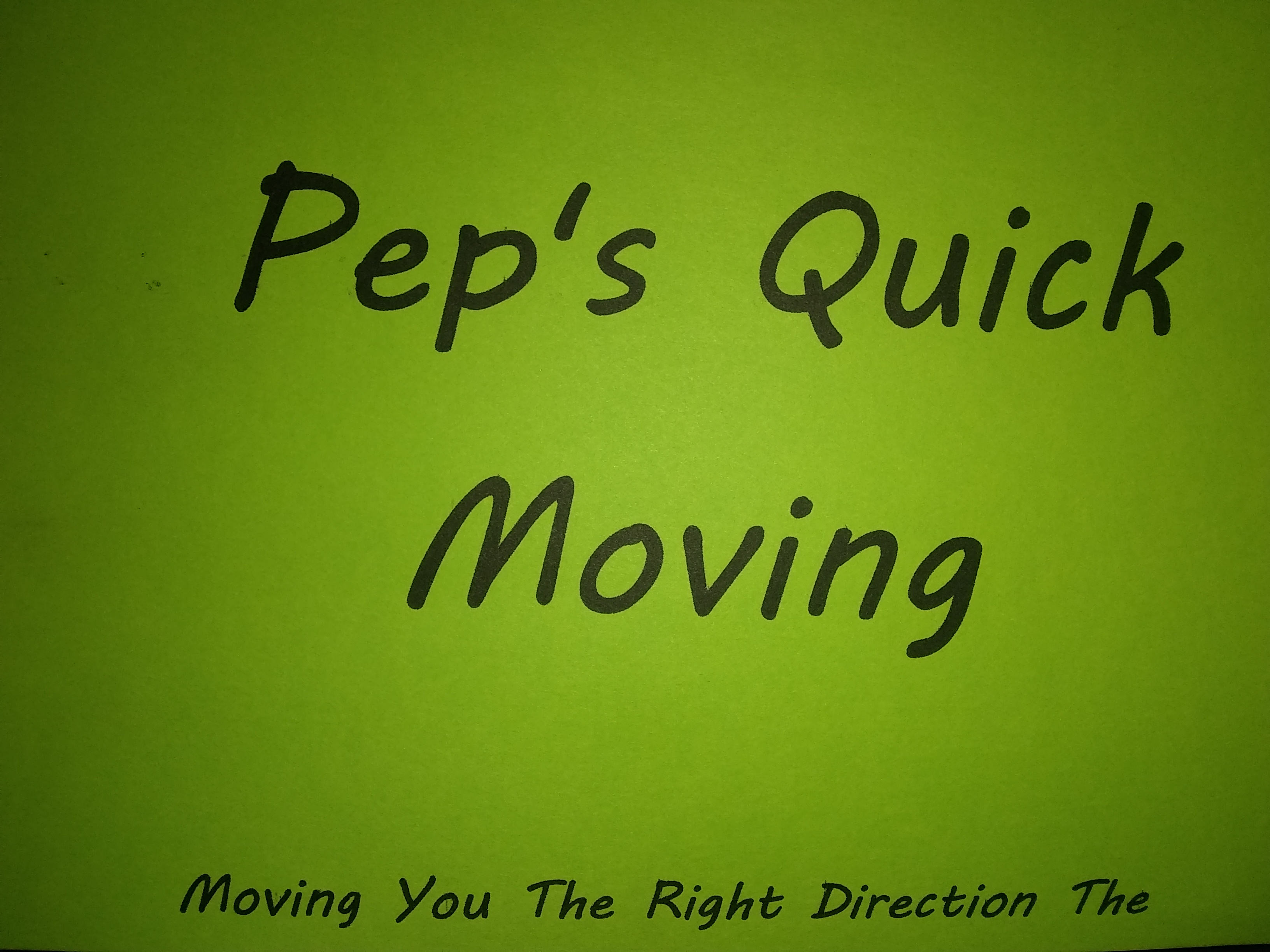 Peps Quick Moving