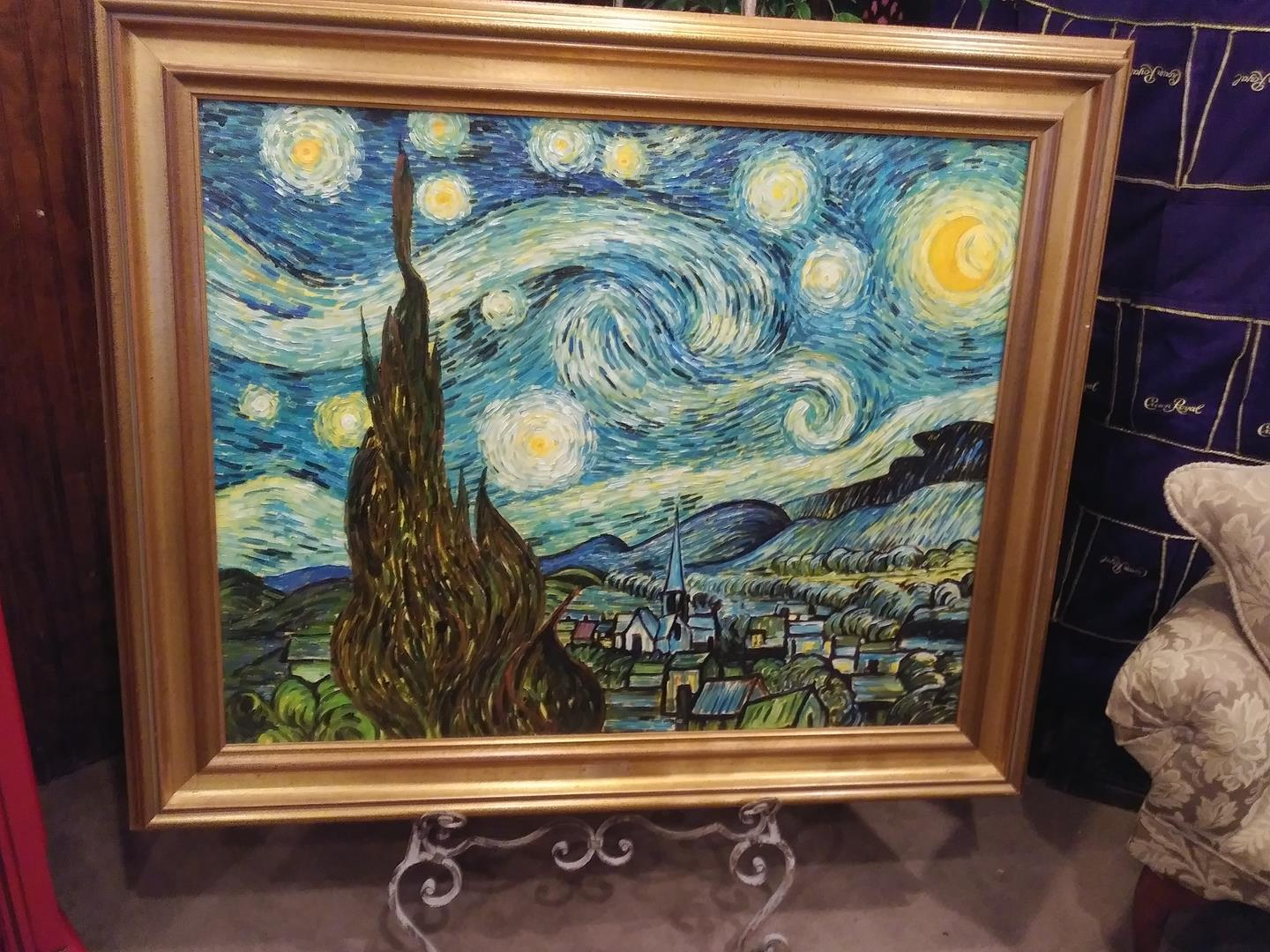 Museum Of Modern Art Rkstarry Night New Yo