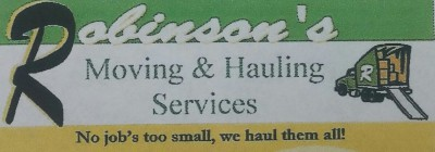 Robinsons Moving and Hauling Services