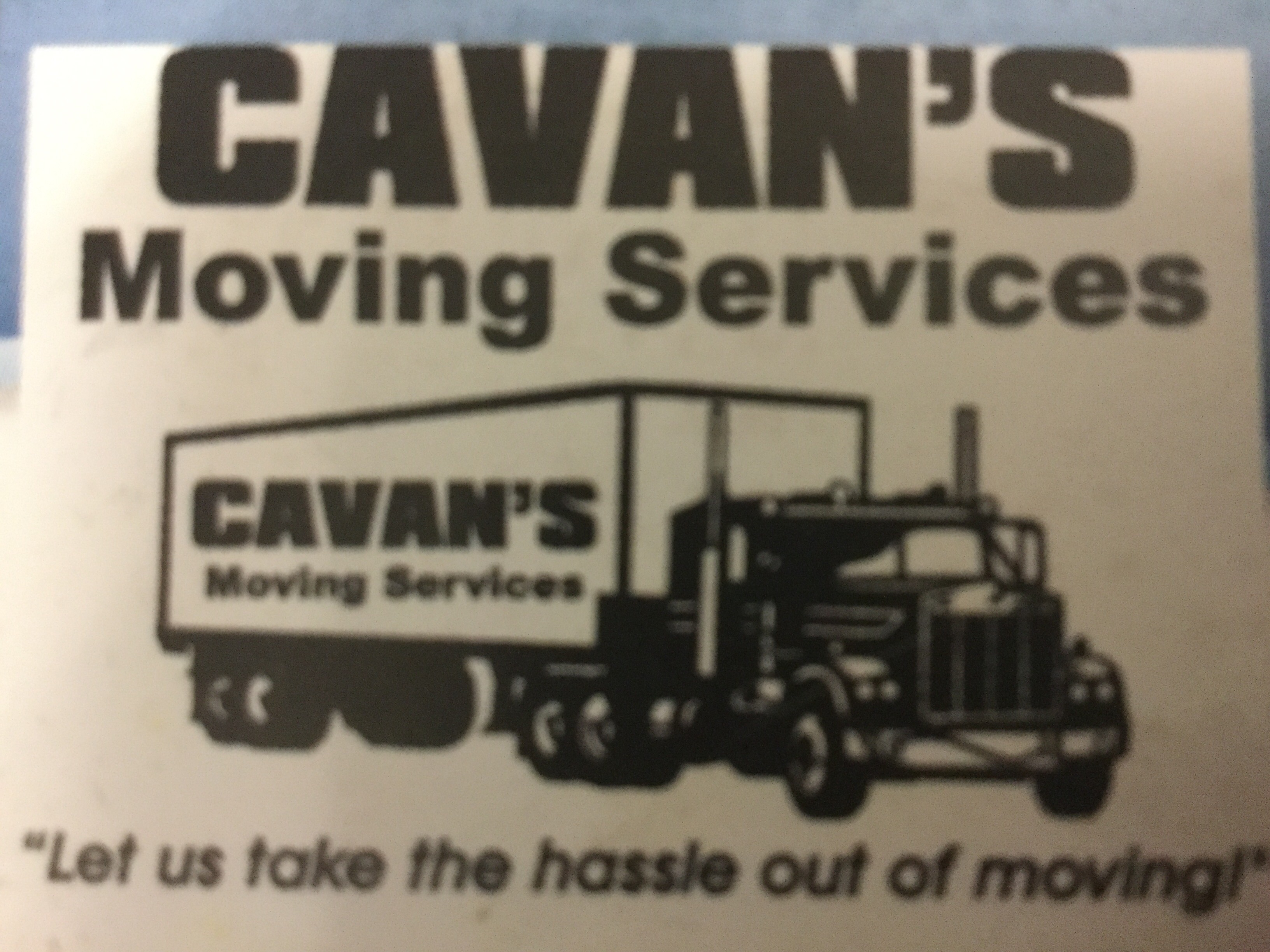 CAVANS MOVING SERVICES Inc